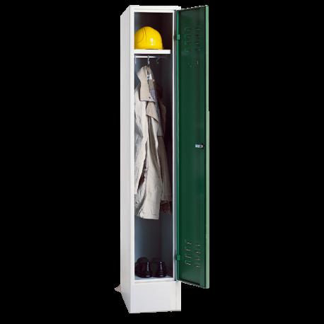 Garderobenschrank auf Sockel, 1 Abteil
