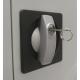 Aktenschrank mit Pendelschienen für Hängeregister 1 Abteil, 2 Türen