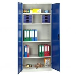 Akten- bzw. Materialschrank 1 Abteil, 2 Türen Tiefe 40 cm