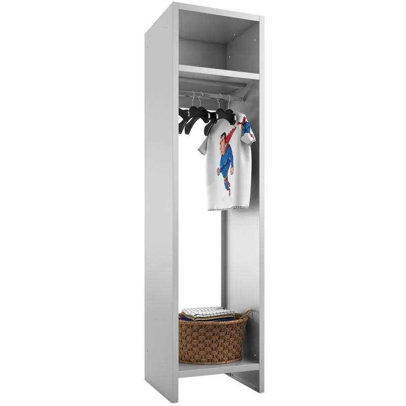 Garderobe aus metall in der breite 50 cm f r ca 5 personen for Breite garderobe