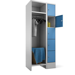 Garderoben Kombination 50/80 cm