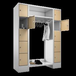 Garderoben Kombination 90/150 cm