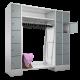 Garderoben Kombination 120/210 cm